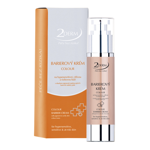 ForLife & Madaga 2DERM Barierový krém colour 50 ml